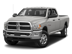 2017 RAM 3500 TRADESMAN CREW CAB W- 8 FT BOX - Front View